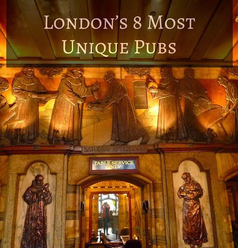 In a town (nay, country!) known for pubs, it's hard to find truly unique ones.