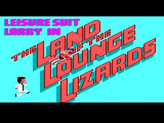Leisure Suit Larry 1 - intro