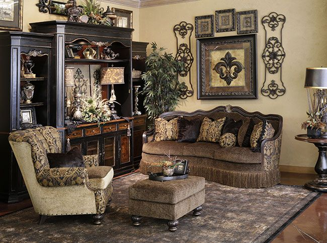 Hemispheres   A World Of Fine Furnishings · Tuscan Living RoomsFormal Living  ...