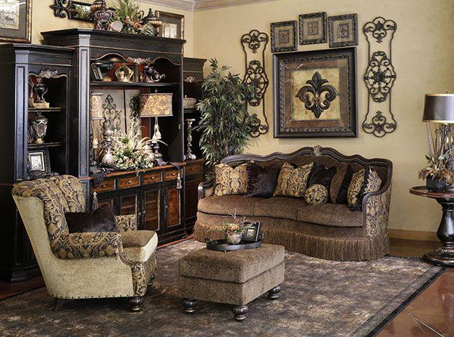 old world style living room furniture. Black Bedroom Furniture Sets. Home Design Ideas