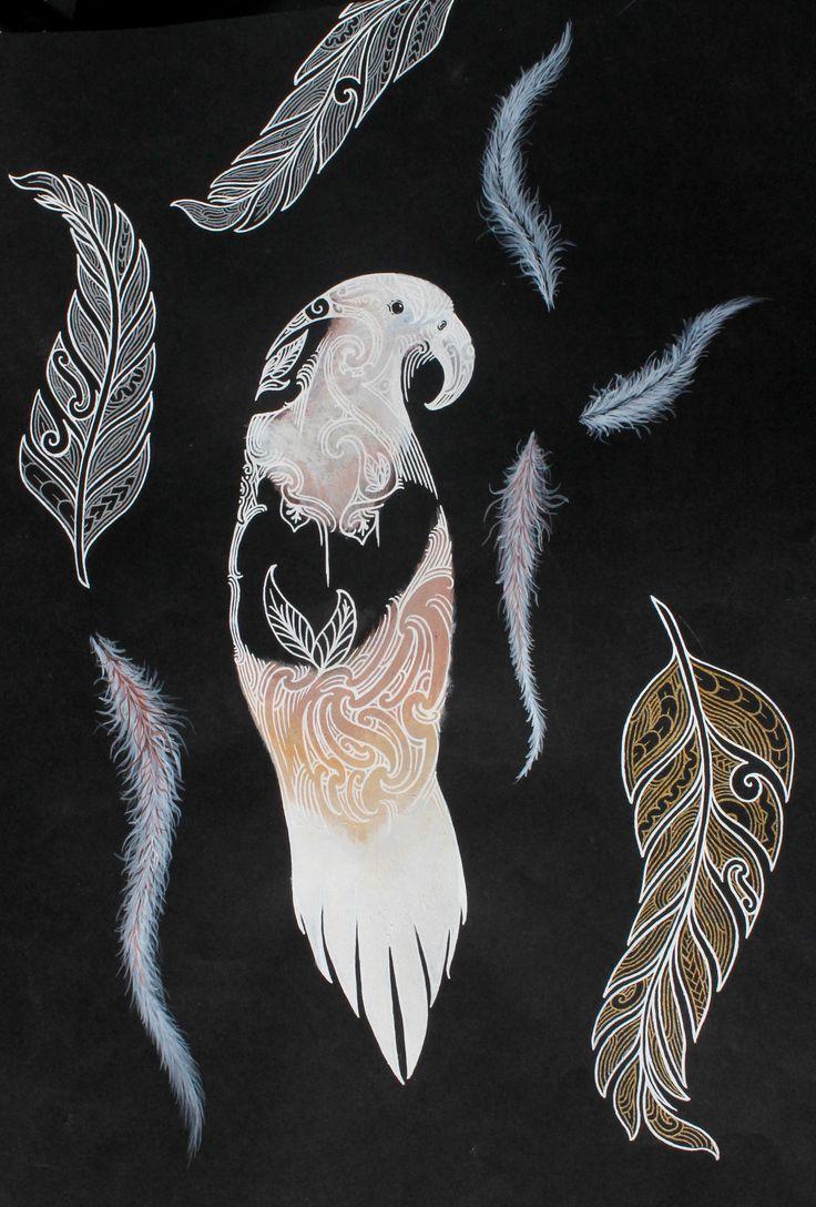 Jahrome Karaitiana Year 12 Painting