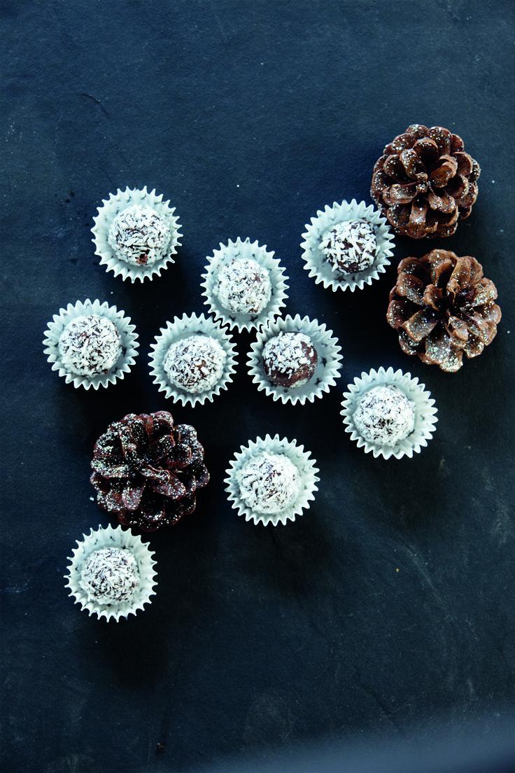 Kávés csokoládés truffle recept #ninivebutik #nicolasvahe #recept