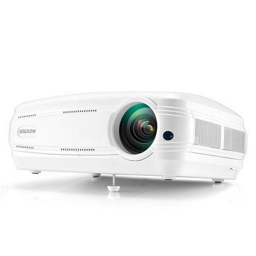 Only US$179.99, buy best Gigxon G58 3200 lumens Portable 1080p Home Theater Projector LED HD Outdoor and Movie Projector sale online store at wholesale price.US/EU warehouse.