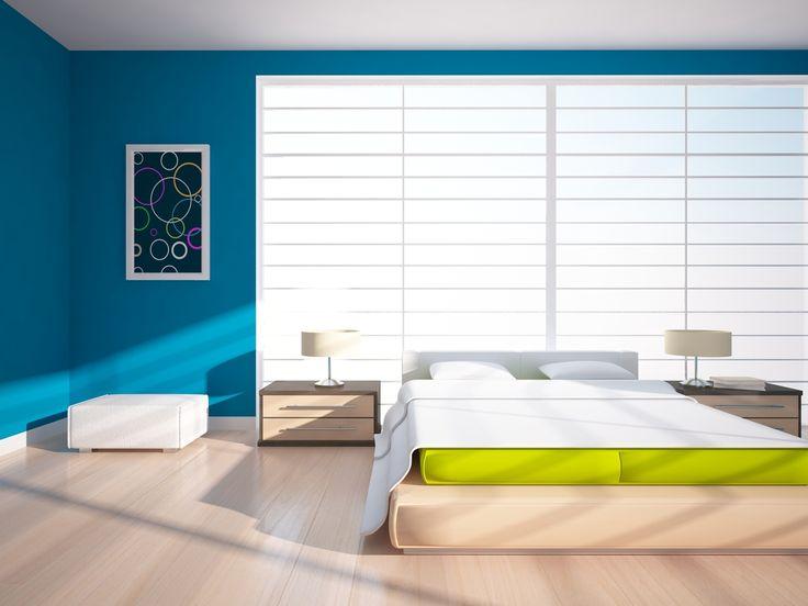 U kunt helemaal zelf kiezen in welke kleur u de muurverf voor uw slaapkamer wilt. De meeste verven kunnen worden aangemengd in RAL of NCS kleuren. U kunt ook zelf de verf aankleuren.