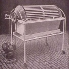 KOLFF DRUM DIALYSIS MACHINE (ca 1943)  Willem Kolff invented the dialysis machine for human use and imported several of these devices into the United States in the early 1940's.
