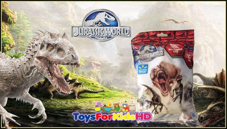 Jurassic world Surprise Jurassic World Sorpresas - Juguetes de Dinosauri...