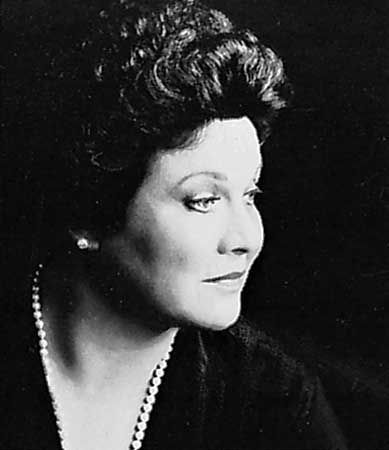 The creamiest of all mezzos, Marilyn Horne