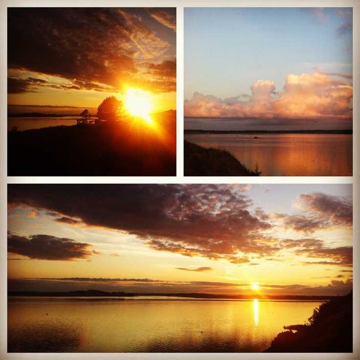 Prince Edward Island, #Canada Reminds me of sunsets at the cottage.