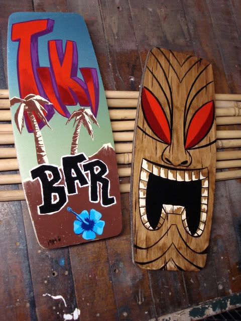 Some tiki art stuff I have done. -- Tiki Central