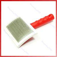 J35 grátis frete New derramamento Grooming escova de cabelo pente para Cat Dog grande