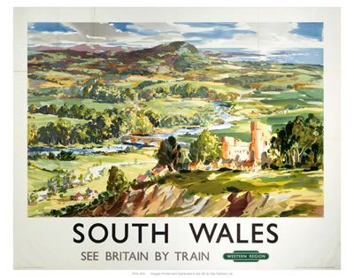 South Wales see Britain by train