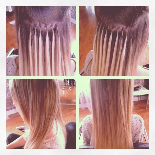 Get long hair in hours with fusion hair extensions! Last 3-5 months with proper care & maintenance.