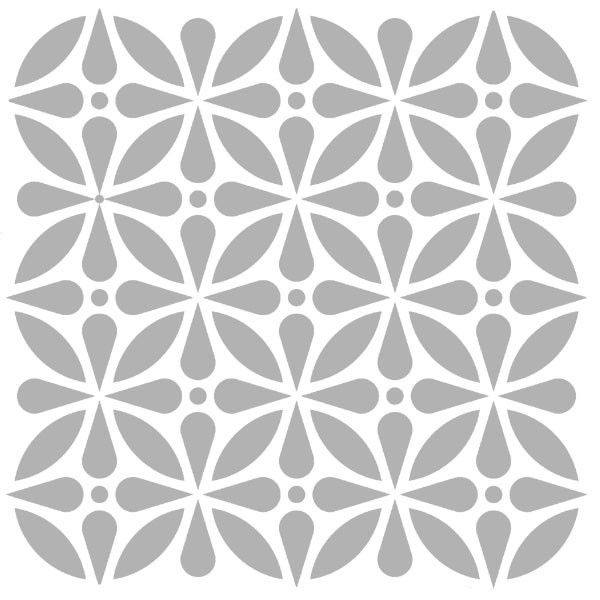 Art Stencil Kaleidoscope 6 x 6 - Save 15%