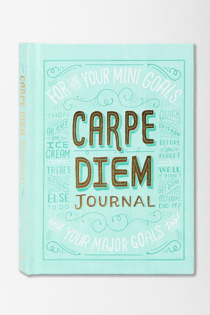 Cute Carpe Diem Journal