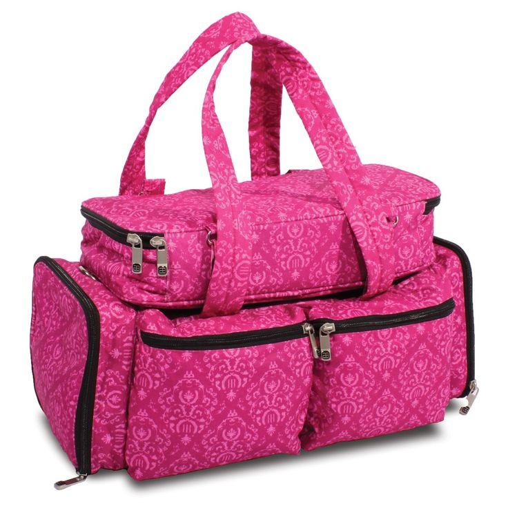 Bellaroo Nail Technicians Bag - IMPERIAL PINK - Nail Tech Bags - Nail Collection - Shop Roo