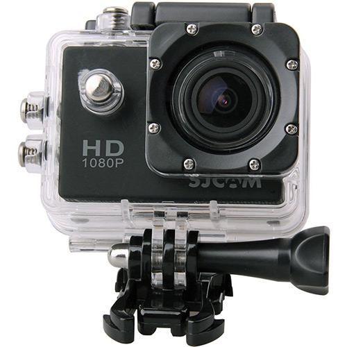 Câmera Compacta SJCAM SJ4000 12MP Wi-Fi Preta