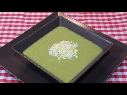 Receta fácil y rápida de crema de espárragos - YouTube