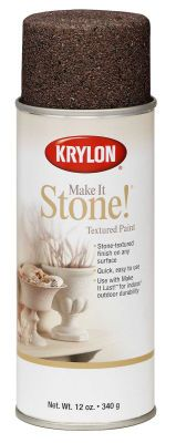 using this to paint my fireplace and mantle to give it a stone appearance!