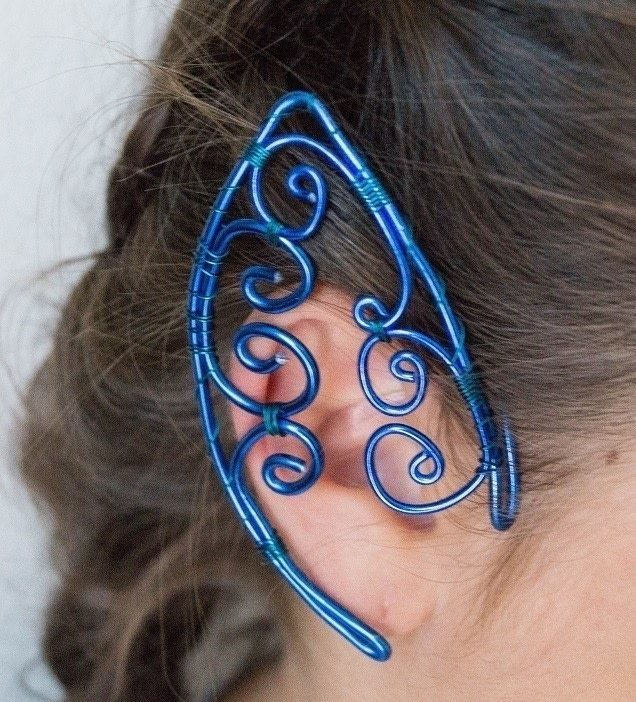 how to make cuff earrings at home