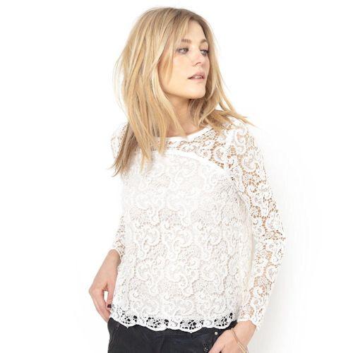 La bonne idée shopping du jour : cette blouse en guipure