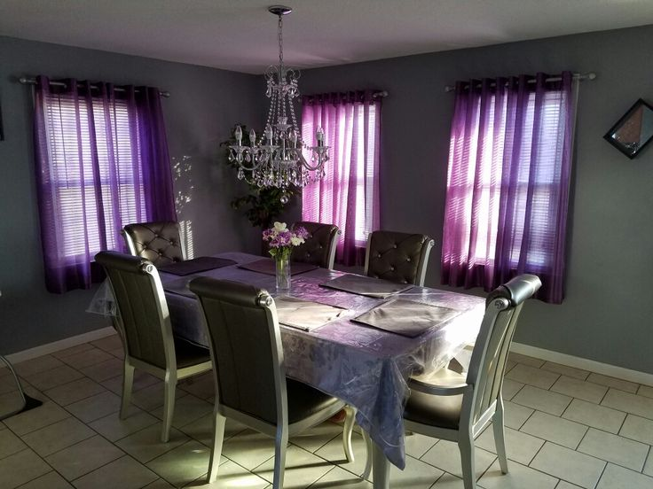 23 Purple Dining Room Designs Decorating Ideas: 1000+ Ideas About Purple Dining Rooms On Pinterest