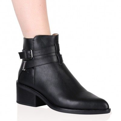 Makenzie Ankle Boots in Black