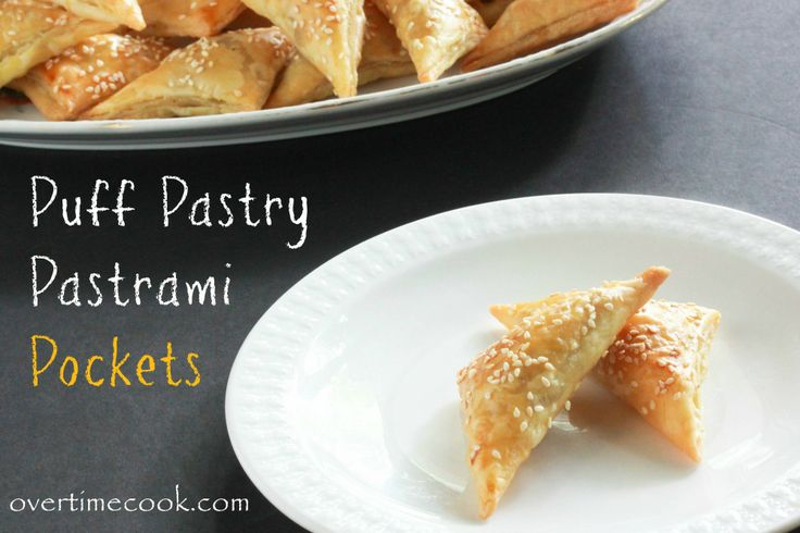 Puff Pastry Pastrami Pockets