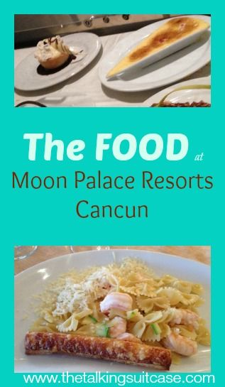 Are you considering a trip to Moon Palace Resorts in Cancun?  See what we ate at Moon Palace Resorts & why you will want to eat there too.  Hubs & I preferred La Trattoria at the Golf Villas