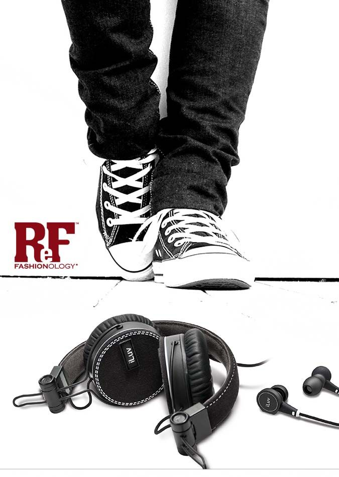 ReF Fashionology Headphones