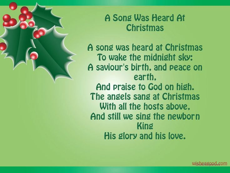The 45 Best Inspirational Merry Christmas Quotes Of All: Merry Christmas Poems For Kids