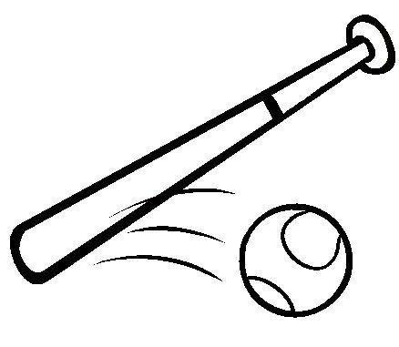 38 Best Baseball Crafts Images On Pinterest Baseball Crafts Baseball Bat Coloring Page