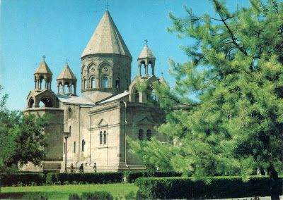 """ARMENIA - Etchmiadzin Cathedral (1) - part of """"Cathedral and Churches of Etchmiadzin and the Archaeological Site of Zvartnots"""" (UNESCO WHS)"""