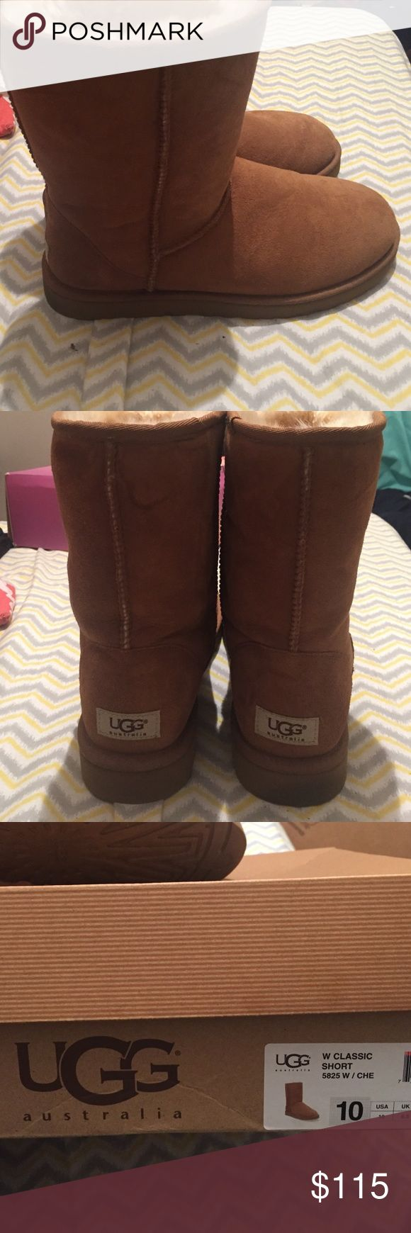 Warm & comfortable for the winter or summer. The boots are a size 10. I have two pairs and don't need this one. They were only worn once and in very good condition. I ordered them from the actual ugg store. UGG Shoes Winter & Rain Boots
