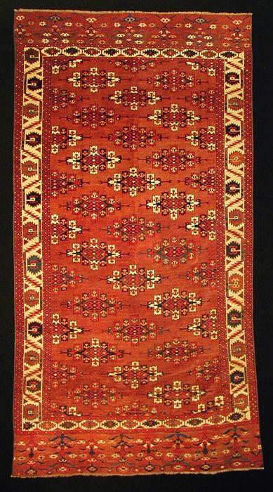 M. Tehrani Yomut / Yomut Maincarpet