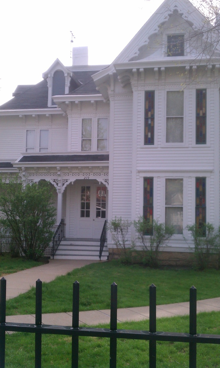 Harry and Bess Truman home. Independence, MO.