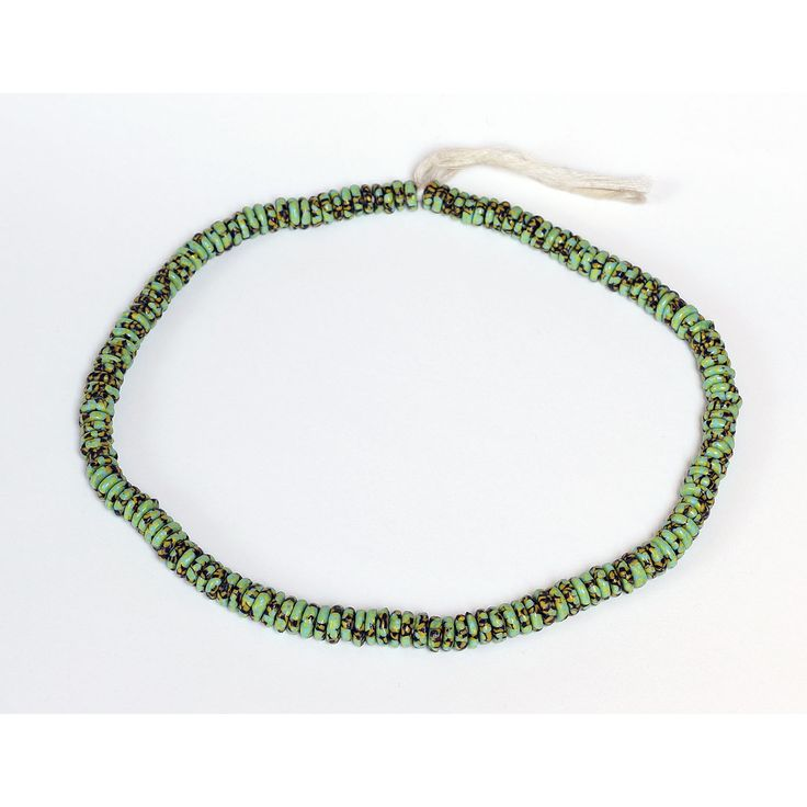 "Perles africaine ""plateau"" recyclées"