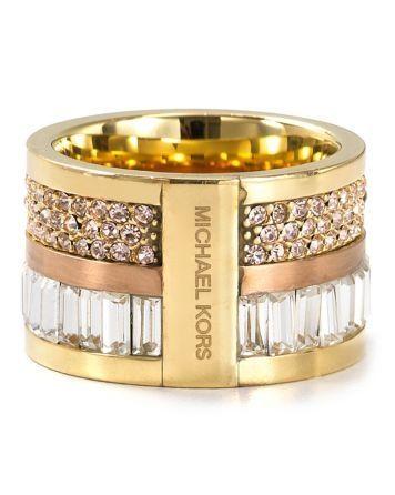 michael kors barrel ring-