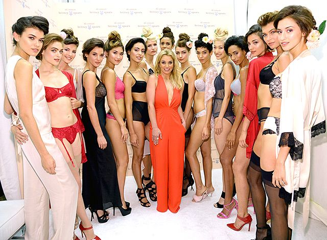 Britney Spears and her lingerie line
