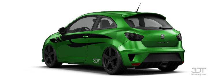 Tuning Of Tuning Seat Ibiza Cupra 3 Door Hatchback 2009 - 3DTuning