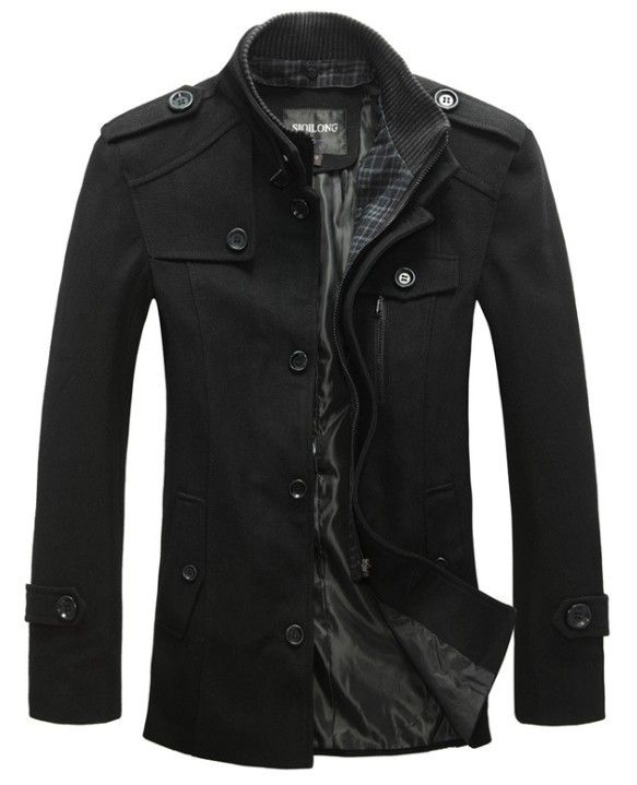 2013 New style jackets for men coats autumn and winter coat brand coat mens jacket fashion military jacket winter men overcoat $48.98