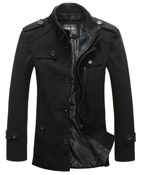 2013 New style jackets for men coats autumn and winter coat brand coat mens jacket fashion military jacket winter men overcoat $48.98