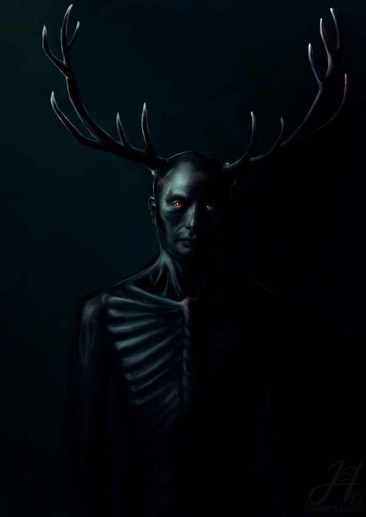 "Wendigo by sheWolf294.devian... on @deviantART - Reminds me of the TV series ""Hannibal"""