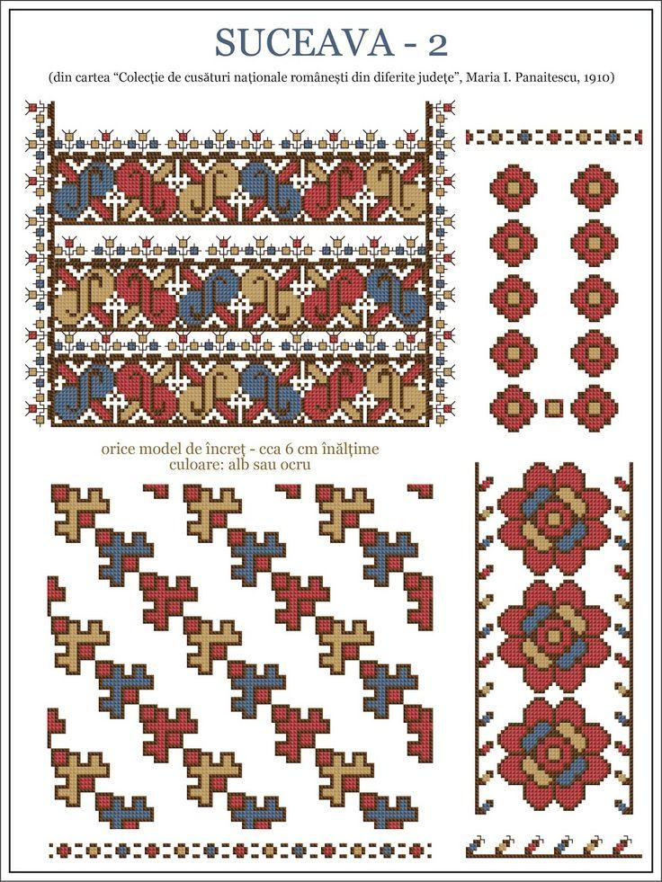 Romanian motifs - SUCEAVA 1910