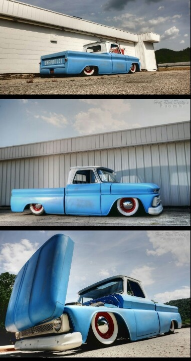 Bagged & Blue 1966 C-10 pickup