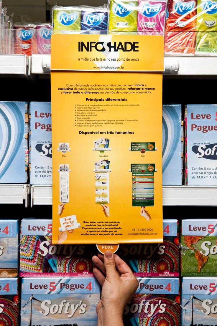 InfoShade - retail shelf messaging.