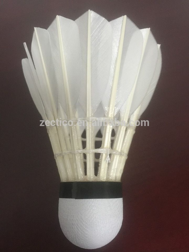 Quality Badminton Shuttlecock goose feather manufacturer China sale