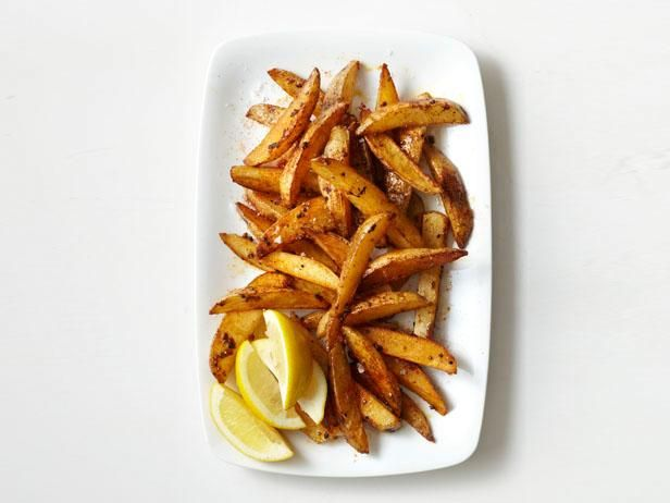 Spiced Oven-Fried Potatoes from Food Network Magazine