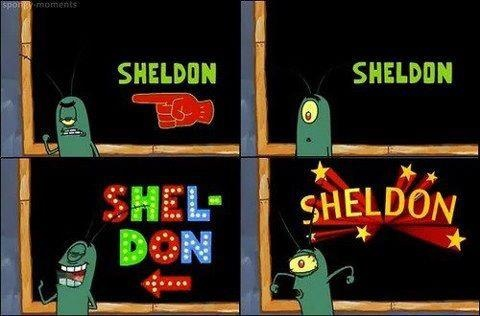 This blew my mind when I was little because I lived in the town of Sheldon