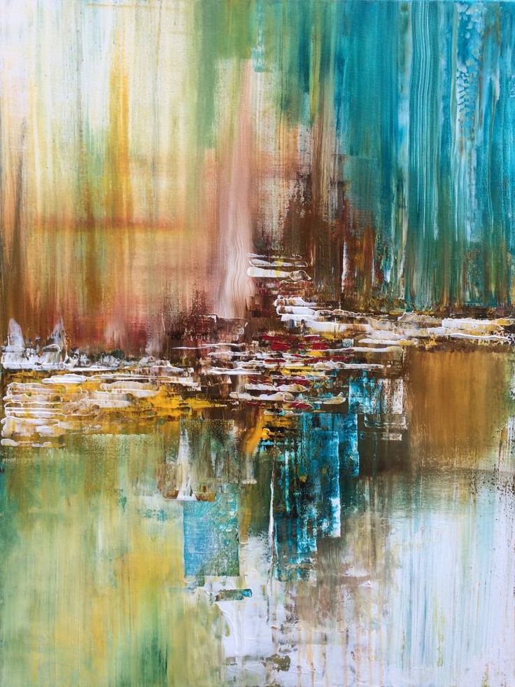 """Abstract Painting""  by Mo Tuncay #painter #painting #artist #art"
