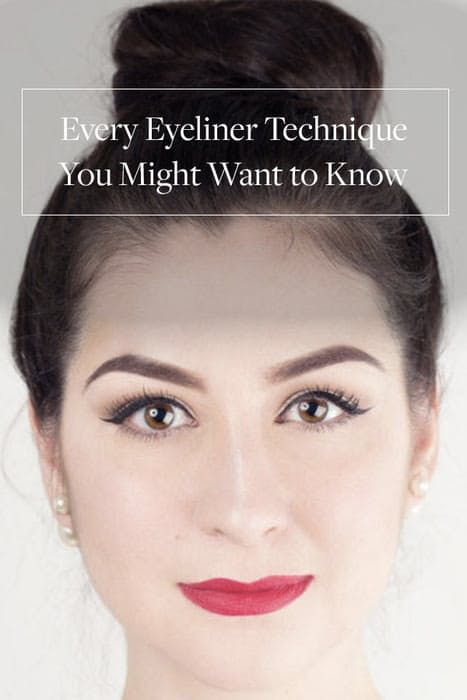 Every Eyeliner Technique You Might Want to Know via @PureWow